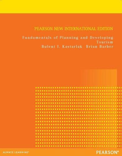 9781292039480: Fundamentals of Planning and Developing Tourism: Pearson New International Edition