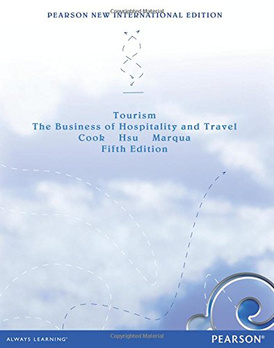 9781292039503: Tourism: Pearson New International Edition: The Business of Hospitality and Travel