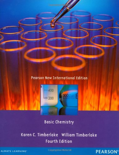 9781292039534: Basic Chemistry Pearson New International Edition