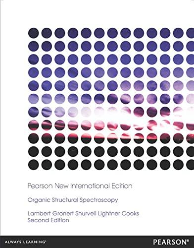 9781292039565: Organic Structural Spectroscopy