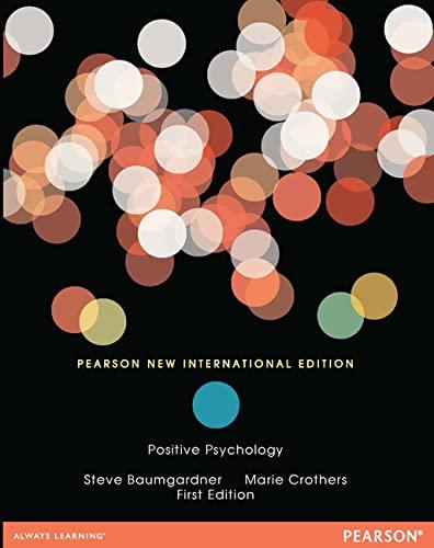 9781292039619: Positive Psychology: Pearson New International Edition