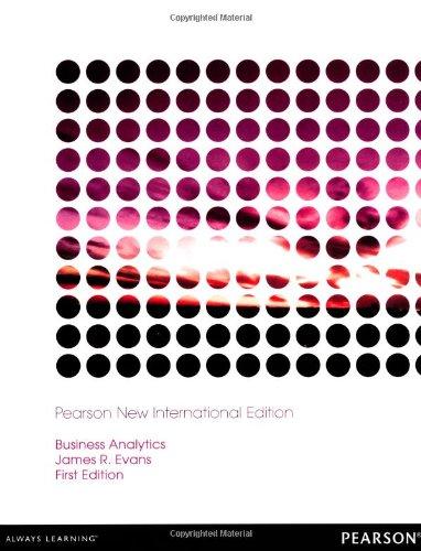 9781292039732: Business Analytics