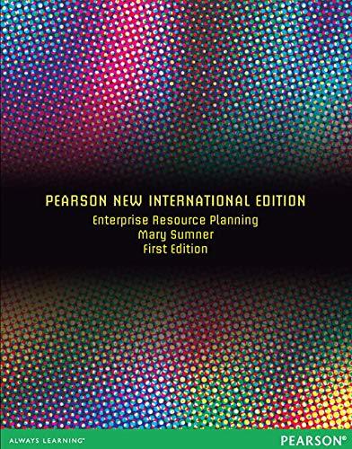9781292039800: Enterprise Resource Planning: Pearson New International Edition