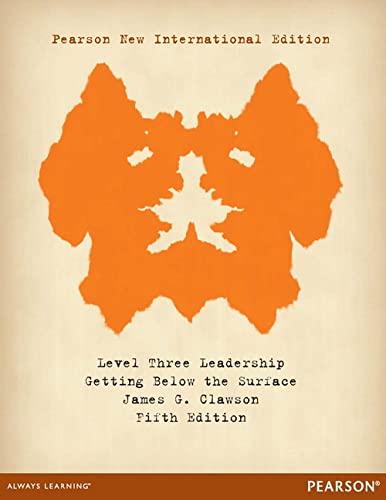 9781292039947: Level Three Leadership: Pearson New International Edition
