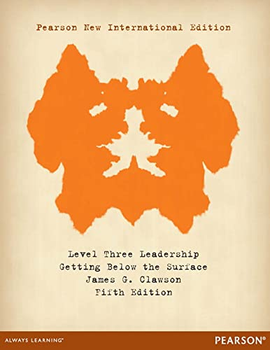 9781292039947: Level Three Leadership: Getting Below the Surface