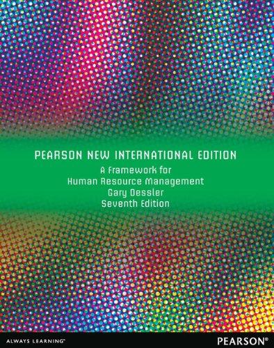 9781292039961: A Framework for Human Resource Management