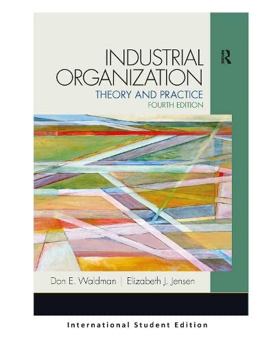 9781292039985: Industrial Organization: Theory and Practice (International Student Edition)