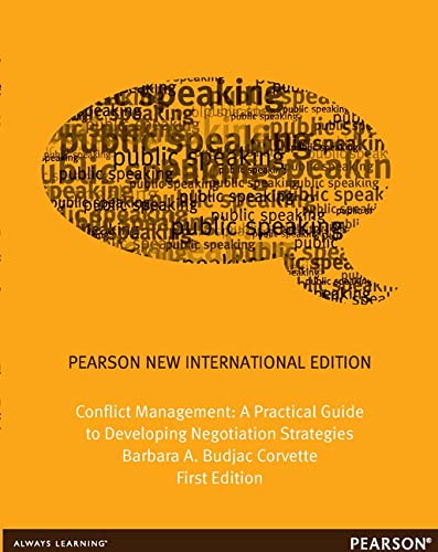 9781292039992: Conflict Management: Pearson New International Edition: A Practical Guide to Developing Negotiation Strategies