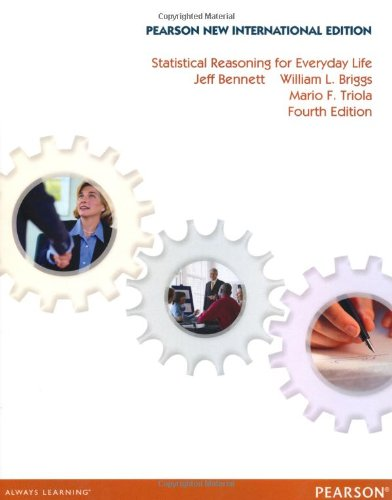 9781292040219: Statistical Reasoning for Everyday Life