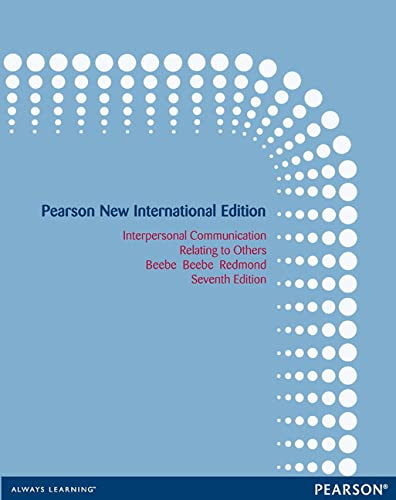 9781292040318: Interpersonal Communication: Pearson New International Edition: Relating to Others
