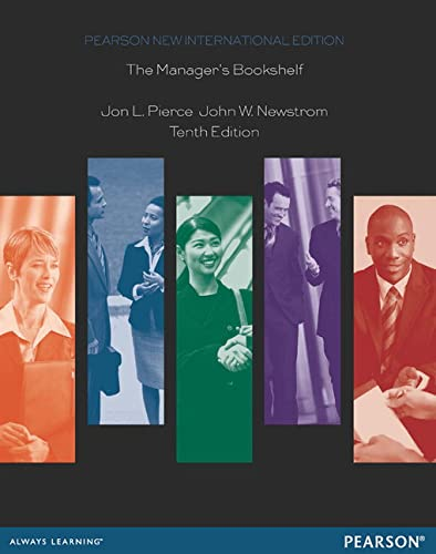 9781292040349: The Manager's Bookshelf