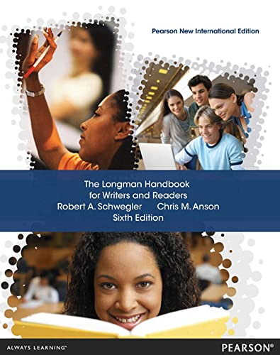 9781292040387: The Longman Handbook for Writers and Readers: Pearson New International Edition