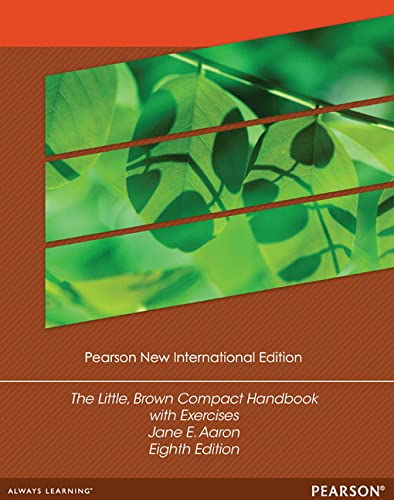 9781292040523: The Little, Brown Compact Handbook with Exercises