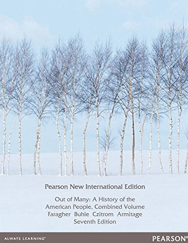 9781292040691: Out of Many: Pearson New International Edition: A History of the American People, Combined Volume
