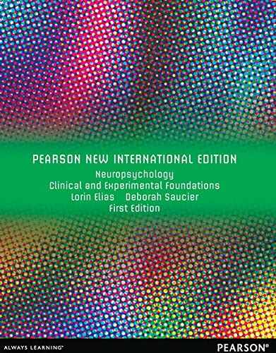 9781292040776: Neuropsychology: Clinical and Experimental Foundations