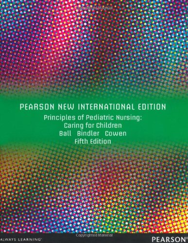9781292040844: Principles of Pediatric Nursing: Caring for Children