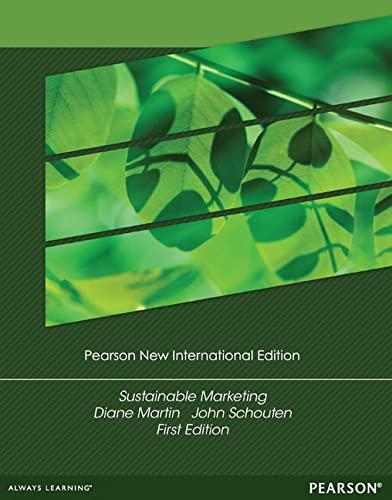 9781292040899: Sustainable Marketing: Pearson New International Edition