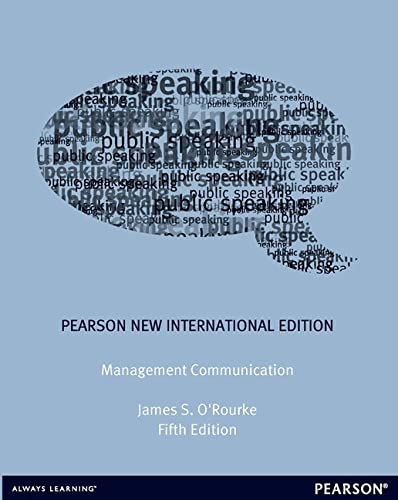 9781292040905: Management Communication: Pearson New International Edition