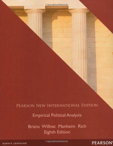 9781292041186: Empirical Political Analysis: International Edition