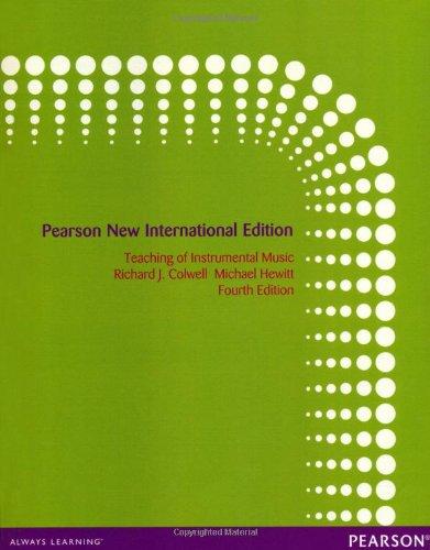9781292041209: Teaching of Instrumental Music: Pearson New International Edition