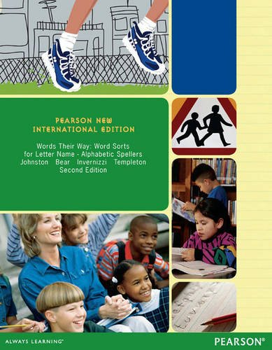 9781292041445: Words Their Way: Pearson New International Edition: Word Sorts for Letter Name - Alphabetic Spellers