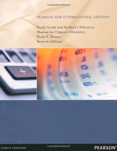 9781292041575: Study Guide and Student's Solutions Manual for Organic Chemistry: Pearson New International Edition