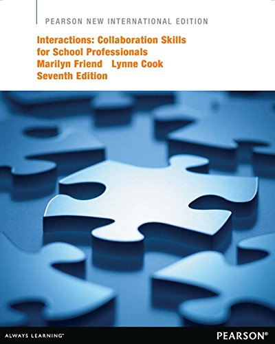 9781292041674: Interactions: Collaboration Skills for School Professionals