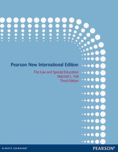 9781292041773: The Law and Special Education