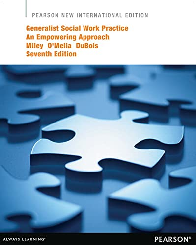 9781292041865: Generalist Social Work Practice: An Empowering Approach