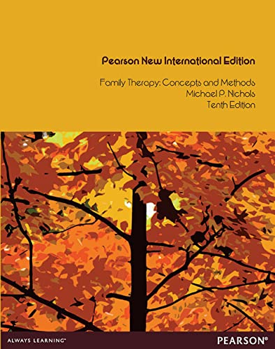9781292041889: Family Therapy: Pearson New International Edition: Concepts and Methods