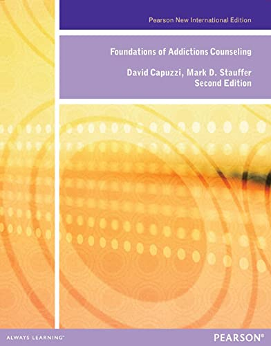 9781292041940: Foundations of Addiction Counseling: Pearson New International Edition