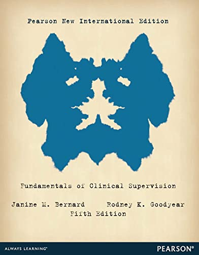 9781292042077: Fundamentals of Clinical Supervision Pearson New International Edition