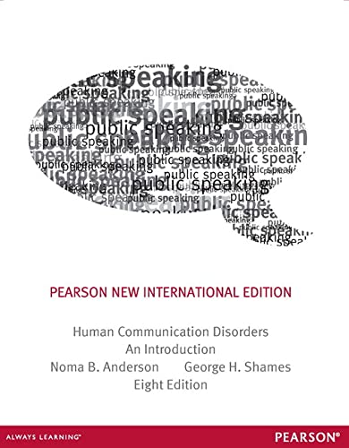 9781292042084: Human Communication Disorders: Pearson New International Edition: An Introduction
