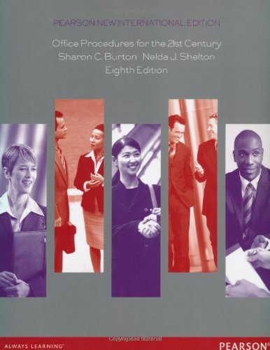 9781292042091: Office Procedures for the 21st Century