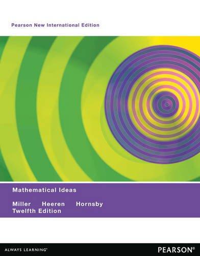9781292042367: Mathematical Ideas