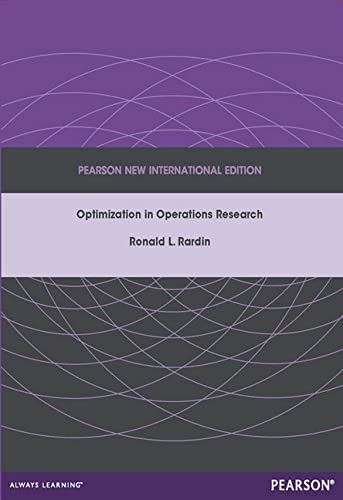 9781292042473: Optimization in Operations Research