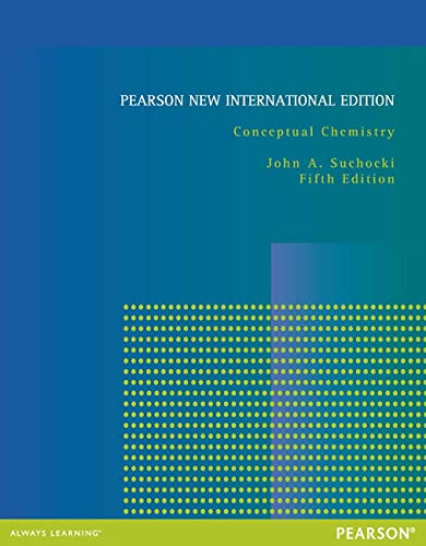 9781292042503: Conceptual Chemistry: Pearson New International Edition