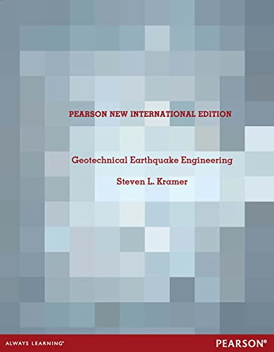 9781292042671: Geotechnical Earthquake Engineering: Pearson New International Edition