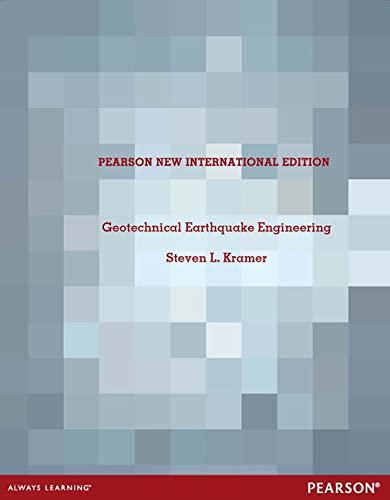 9781292042671: Geotechnical Earthquake Engineering: Pearson New International Edition