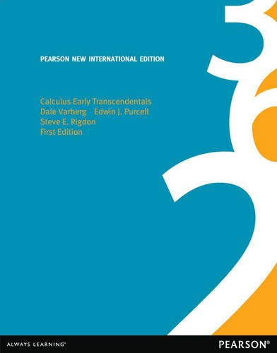9781292042688: Calculus Early Transcendentals: Pearson New International Edition