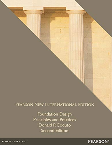 9781292042886: Foundation Design: Principles and Practices