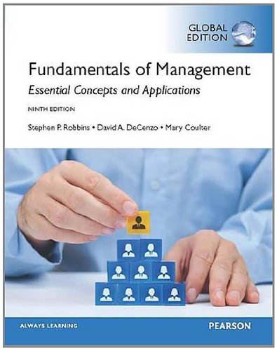 9781292056548: Fundamentals of Management, Global Edition