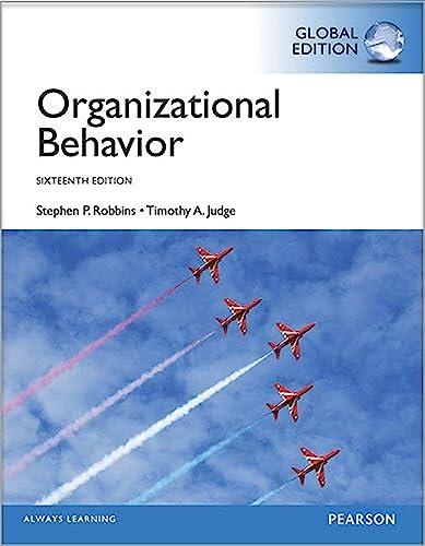 9781292056555: Organizational Behaviour, Global Edition