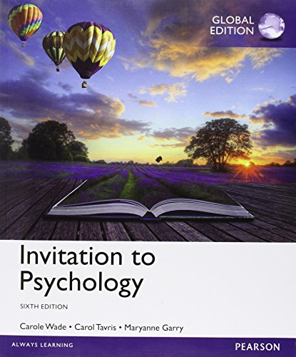 9781292057064: Invitation to Psychology with MyPsychLab, Global Edition