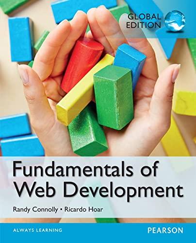 9781292057095: Fundamentals of Web Development, Global Edition