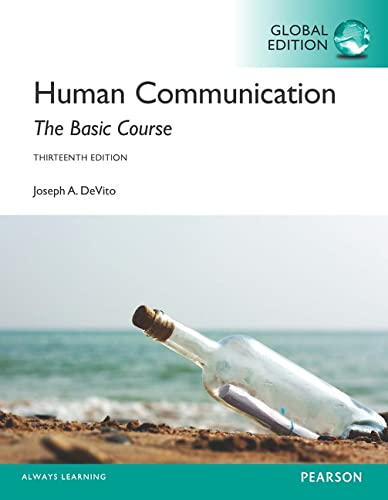 9781292057101: Human Communication: The Basic Course, Global Edition