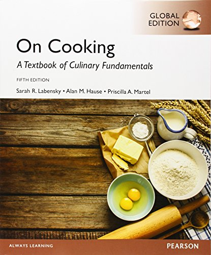 9781292057170: On Cooking: A Textbook for Culinary Fundamentals, Global Edition