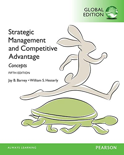 9781292057675: Strategic Management and Competitive Advantage Concepts, Global Edition