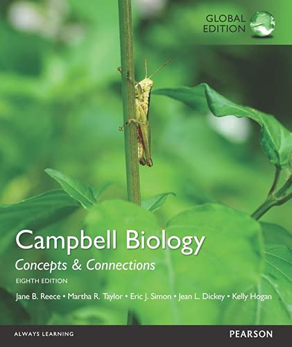 9781292058481: Campbell Biology: Concepts & Connections with MasteringBiology, Global Edition