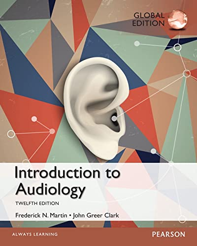 9781292058856: Introduction to Audiology: Global Edition